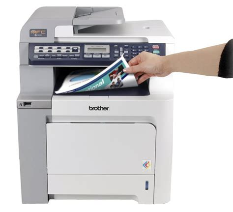laser printer faded on one side print scan peripherals amazon com brother mfc 9450cdn color laser multifunction