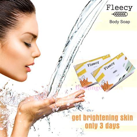 Dijamin Sabun Pemutih Fleecy Fleecy Soap fleecy soap produk fleecy pembersih dan pemutih