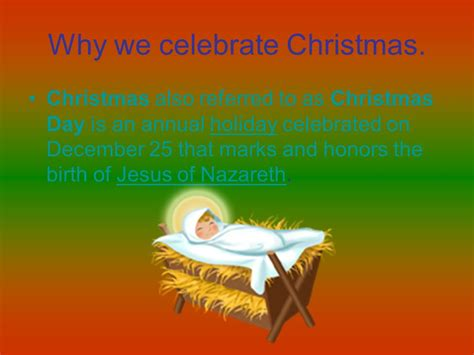 why do we celebrate why do we celebrate on dec 25 decore