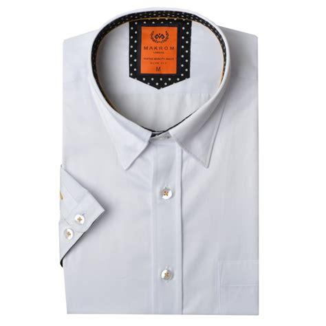 Sleeve Trim Shirt sleeved polka dot trim mens shirt ss6084 the shirt