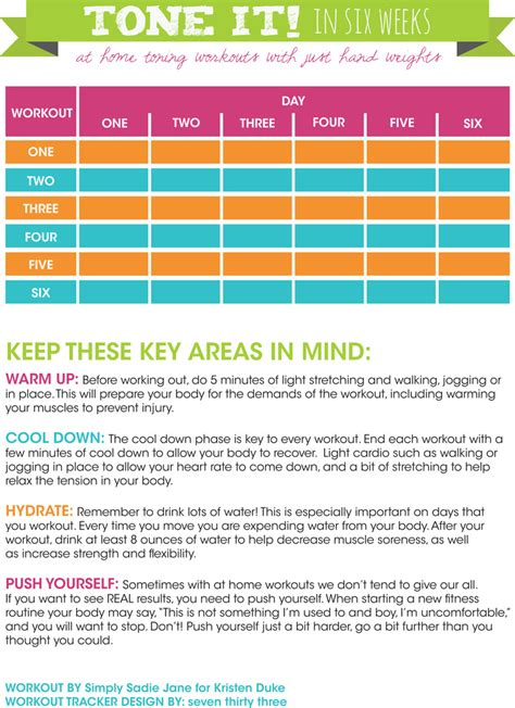 cross fit workout checklist free printable