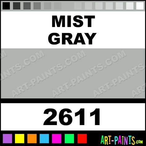 mist gray fabricmate superfine paintmarker marking pen paints 2611 mist gray paint mist