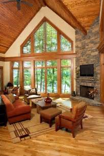 Rustic Living Room Window 30 Rustic Living Room Ideas For A Cozy Organic Home