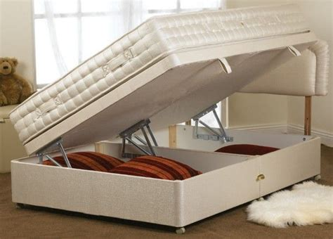 bed with hidden storage hidden storage bed base secret and secure spaces pinterest