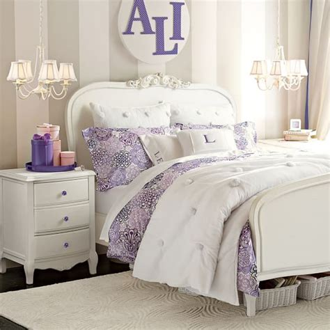 pb teen beds lilac bedside table pbteen