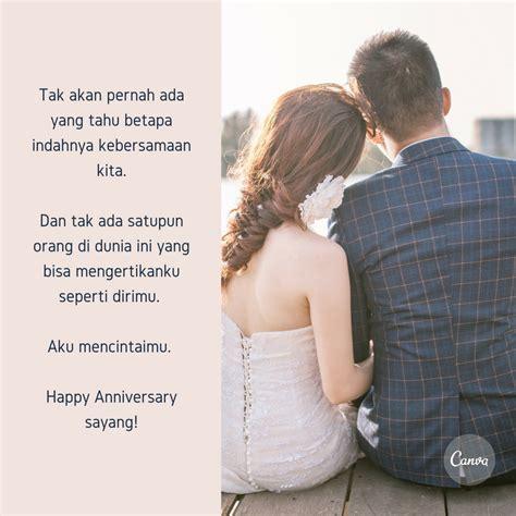 kata kata  happy anniversary untaian kata