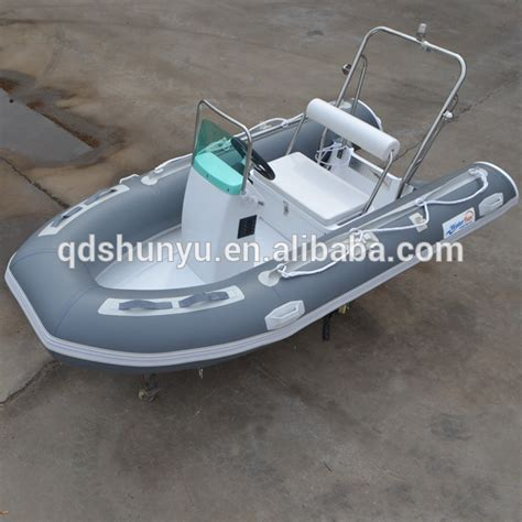 ce certificate 11ft 4persons center console rib boat for - Console Rib