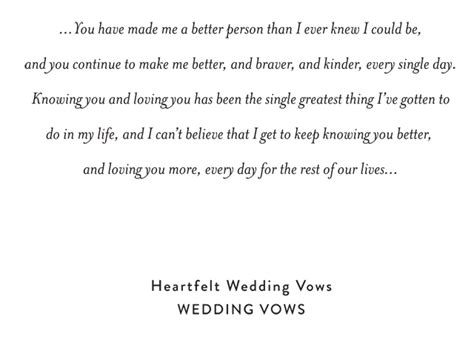 wedding ceremony guest vows the most beautiful wedding vows i heard snippet