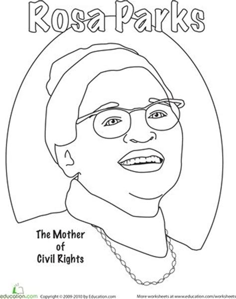 Rosa Parks Coloring Pages Az Coloring Pages Civil Rights Coloring Pages
