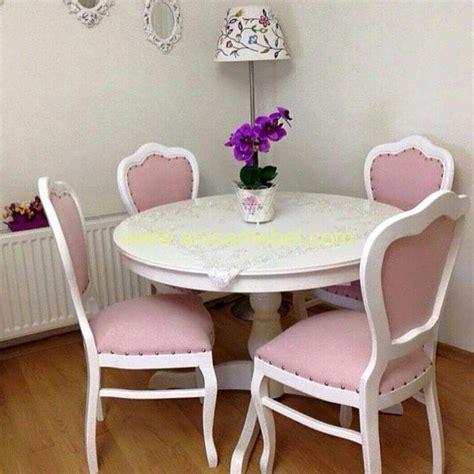 Meja Makan Warna Hijau Meja Makan Warna Pink 4 Kursi Anisa Mebel Jepara Pilihan Furniture Berkualitas