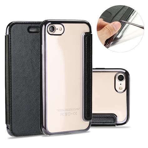 Flip Shell Iphone 7 7 Plus Hardcase Harga Murah Jamin Bagus iphone 7 7 plus soft leather ultra slim wallet rubber