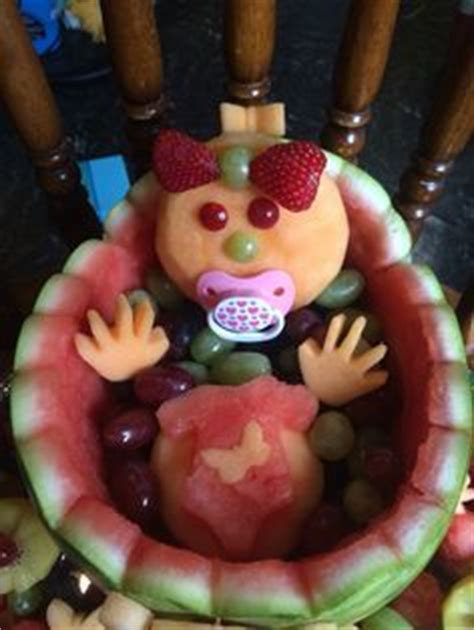 watermelon crib for baby shower my recently had a baby and i made this for