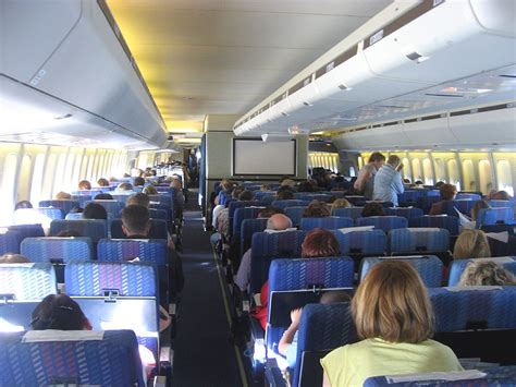 boeing 747 cabin charter flight from moscow to antalya on a transaero