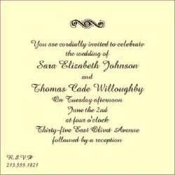 wording for couple wedding invitation wedding invitation