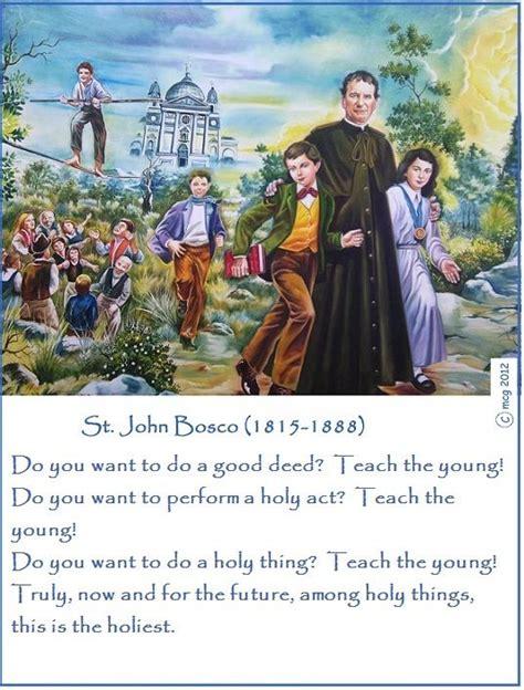 catholic themes in hamlet 31 january feast day st john bosco catholic saints