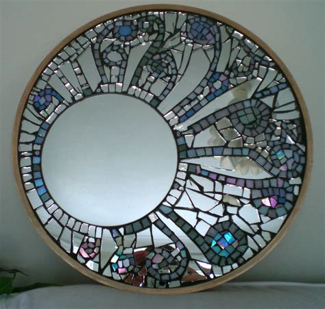 Diy Bathroom Mirror Frame Ideas by Mirror Mosaic Kawportfolio