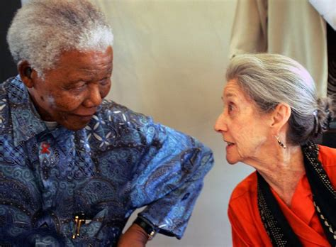 nelson mandela biography new york times nadine gordimer novelist who took on apartheid is dead
