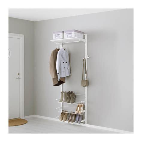 ikea wall mounted shoe storage algot wall upright shelves shoe organizer ikea