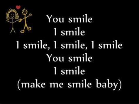 justin bieber u smile lyrics song justin bieber u smile studio version on screen lyrics