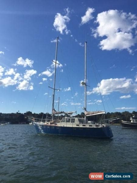 ketch boat for sale australia steel ketch 52 foot yacht located in sydney for sale