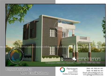 home designer pro square footage 1447 square feet double floor contemporary home design
