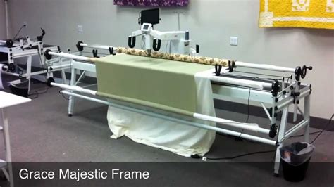 grace company majestic machine quilting frame free speed