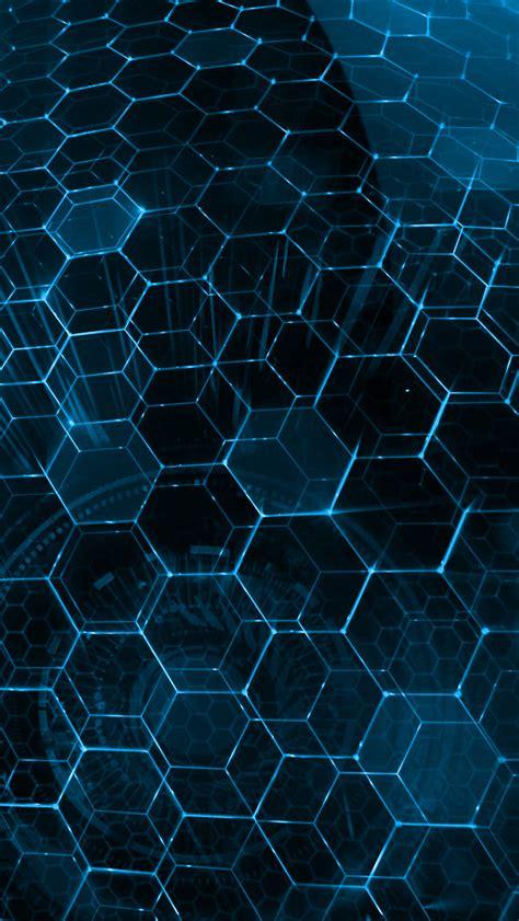 wallpaper abstract hex blue hex iphone 5 wallpaper 640x1136