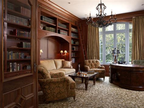 King Library Study Room by House Library Decor