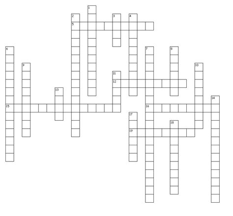 crossword clue for layout learning objective crossword puzzle