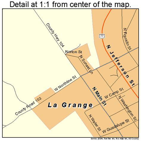 la grange texas map la grange texas map 4840276