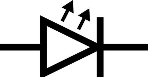 diode symbol led led symbol clip at clker vector clip royalty free domain