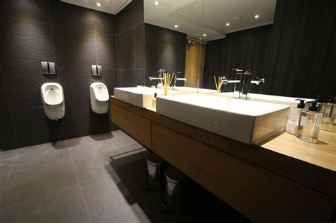 modern office bathroom luxury office bathroom needs partition for urinals