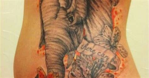 tattoo without pain tattoos elephant lilies quot without pain and suffering