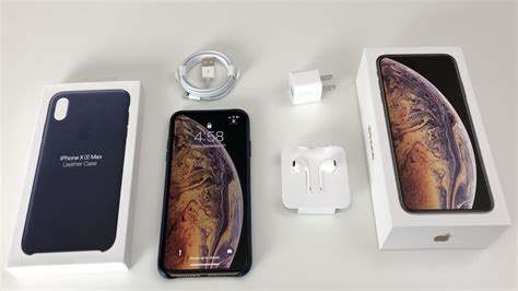 iphone xs max unboxing gold iphone  max youtube