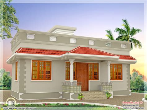 one bedroom house plans kerala single floor house plans kerala single floor house one