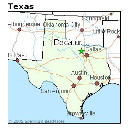 decatur texas map best places to live in decatur texas