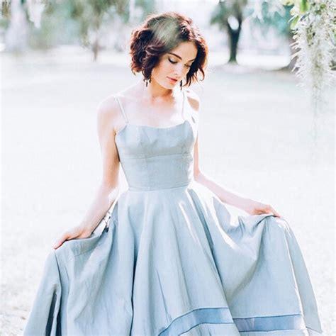 Brautkleider Instagram by The Prettiest Blue Wedding Dresses On Instagram Livingly
