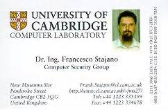 phd or dr on business cards frank stajano s things
