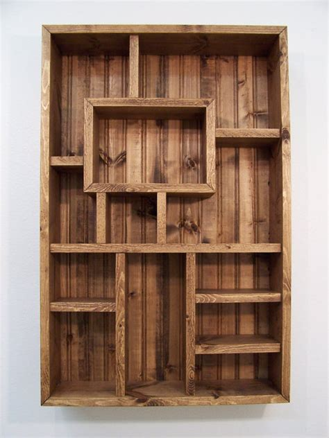 wood display shelves shadowbox wood shelf shadow box display from