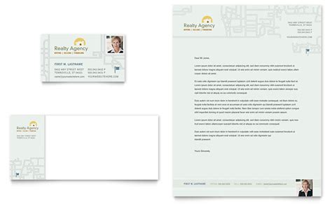 Free Real Estate Business Card Templates For Word by Real Estate Realtor Business Card Letterhead