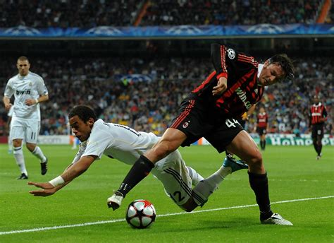 uefa soccer league matches today marcelo vieira in real madrid v ac milan uefa chions