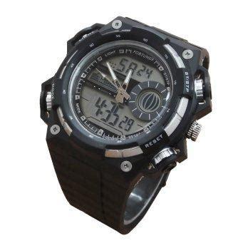 harga fortuner 1611 jam tangan pria karet hitam