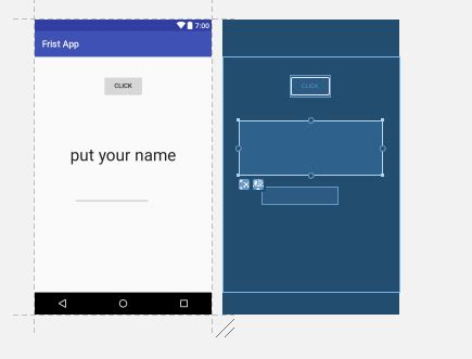 android layout overlapping views overlap layout android studio in buttons and text views