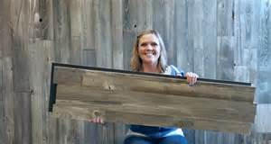 Home Interior Decorating Company introducing our new barnwood grey prefab wall panels