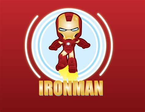 ironman wallpaper del invencible cute iron man por favor
