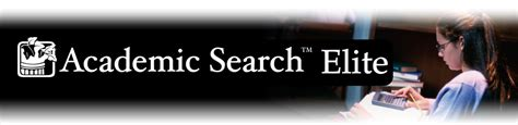Elite Search Academic Search Elite Academic Research Database Ebsco