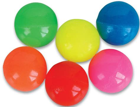 colored balls 27mm solid color bouncy