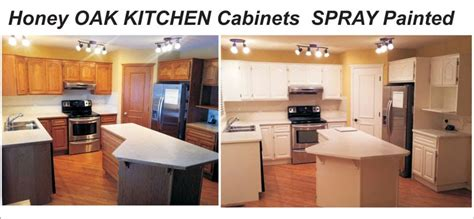 01 oak kitchen cabinet painting refinishing into