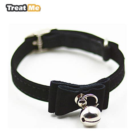 Cat Adjustable Collar Coffee real leather paw ᐊ cut cut puppy collars adjustable