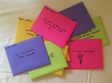 7 Whod Make A Fab Bff by 50 Open When Card Ideas For Your Best Friend Trusper